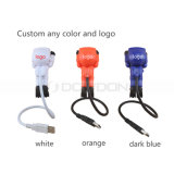 Diver Design Flexible USB Light Promotion Cadeau 2LED 1W Lampe