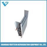 Condensatore alettato ed evaporatore del tubo di rame