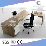 現代L形のコンピュータの机マネージャ表のオフィス用家具