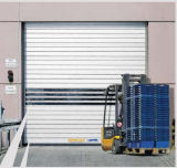 Puerta seccional industrial cochera automática con el sensor (Hz-FC050)