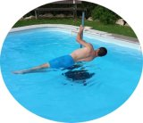 Under Water Exercise Stainless Steel Aqua Dance Pole