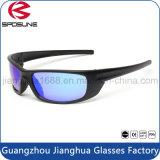 Los nuevos anteojos del deporte de la seguridad de la lente del espejo de la manera polarizaron las gafas de sol deportivas de calidad superior protectoras ULTRAVIOLETA de Eyewear