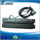 Tipo manual leitor/escritor magnéticos de Swip do smart card da relação Hi/Lo-Co de USB/RS232