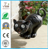 Iron Bird Tease Cat Metal Garden Decoration