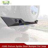 Parachoques traseros de la venta de la araña superior del veneno para el Wrangler del jeep