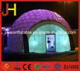 Раздувной шатер купола СИД светлый для напольной партии