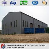L'Oman ha personalizzato il magazzino prefabbricato chiaro della costruzione/liberato di/workshop