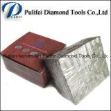 Segment solide de diamant de segment de granit de découpage de couche de sandwich pour le quartz