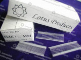 Pin бирки 25mm/65mm/75mm Nylon белый, цветастый Pin бирки