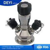 Soupape témoin de bride de cuve de fermentation de l'acier inoxydable AISI316L tri
