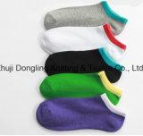 Form gekämmte Baumwolltief-Schnitt-Mann-Socken