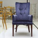 Cadeiras Relaxing da sala de visitas de veludo do projeto luxuoso
