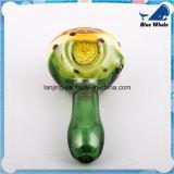Pipe de fumage en verre en verre en verre de cuillère de cuvette de pipe de la main Bw202 mini