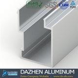 Profil en aluminium du Nigéria pour la porte coulissante de cadre de tissu pour rideaux de guichet