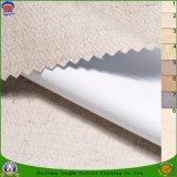 ホーム織物によって編まれる防水Frポリエステルリネンコーティングの停電の窓カーテンファブリック