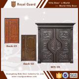 Projetos de aço da porta principal das portas de alumínio quentes da segurança da venda