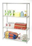 Loja de Metro OEM Fábrica de estante de arame cromado resistente