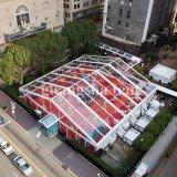 200 Seaterの新しく明確な屋根PVC玄関ひさしの結婚式のテント