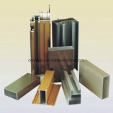 Perfil de alumínio da isolação térmica com superfície do revestimento do pó