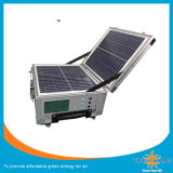 Sistema de energía solar portátil y cargador del ordenador portátil del generador