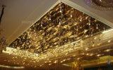 Luxuriöse Decken-Beleuchtung mit Kristall für Hotel oder Gaststätte