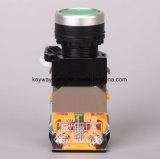 Serien-22mm geleuchteter Drucktastenschalter der Keilnute-La118m