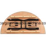 '' halbrunder hölzerner faltender Tisch des Bankett-60 (CGT1623)