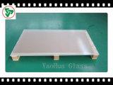 3,2 mm / 4 mm Placas de vidrio templado Solar para el panel solar y el colector solar