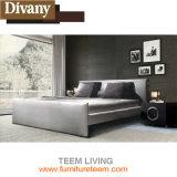 살아있는 새로운 디자인 현대 가죽 침대를 가득 차십시오