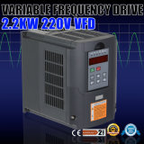 invertitore variabile VFD dell'azionamento di frequenza di 2.2kw 220V 3HP 10A