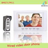 7 pouces vidéo porte téléphone sonnette interphone kit avec 1 caméra 1-moniteur