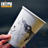 Taza de papel de consumición caliente 360ml del café