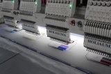 4つのヘッド高速および競争価格の9/12/15台の針のコンピュータの刺繍機械