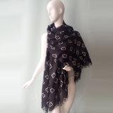 Baumwolvoile-Schal des Polyester-48s für Frauen