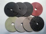 Almofadas de polir de moedor de pálete de cerâmica