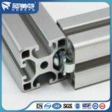 Het aangepaste Zilveren Geanodiseerde Industriële Profiel van het Aluminium voor Industrie van Machines