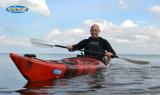 5.1m velocidad sencillo sentarse en Ocean Touring Canoa