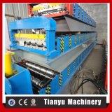Roulis en acier de carrelage en métal de toiture automatique formant la machine