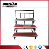 Coro del soporte de las canalizaciones verticales de Shizhan/estribillo de acero plegable/etapa coral