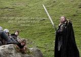 Ned Valyrian rigido Greatsword/gioco della spada di film dei troni