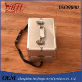 Caixa de alumínio do instrumento da maleta de ferramentas/um saco de ombro