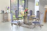 Комплект мебели комнаты самомоднейшей домашней мебели конструкции слоя нержавеющей стали Sj930 живущий