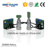 Co2 Galvo HoofdJs2808 voor de Machine van het Glas van de Gravure van de Laser