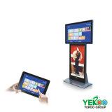 Pantalla de interior del anuncio de la señalización del LCD Digital del monitor de la pulgada LED TV de la vertical 49