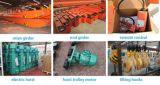 Grue fournie par service d'intérieur de pont en moteur d'élévateur d'industrie de matériel de levage 5 tonnes