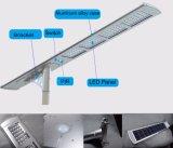 50W altos lúmenes de calidad superior todo en una luz de calle solar del LED con la FCC del Ce