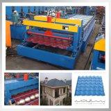 1100 type roulis en acier de toit de couleur formant la machine