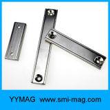 Aimants rectangulaires de bac de barre magnétique de couteau avec l'alésage de compteur