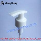 Pompe en plastique de lotion de structure de gauche à droite