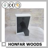Rectángulo de sombra de madera para la decoración casera